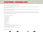 Le site fauteuil-gaming.com