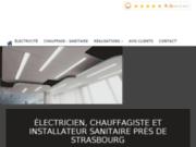 Electricien, chauffagiste et installateur sanitaire à Strasbourg en Alsace