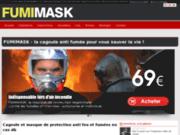 Masque de protection contre les fumées lors d'un incendie: FUMIMASK