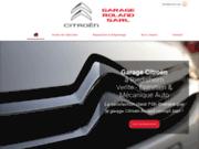 Garage Roland, concessionnaire de la marque Citroën près de Mulhouse