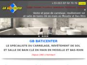 GB BATI CENTER expert du carrelage sur le secteur de Rohrbach-lès-Bitche