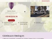 Pompes funèbres générales à Binche
