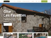 Gîte Les Fayettes à Montregard en Haute-Loire