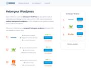 Comparatif des meilleurs hébergeurs WordPress