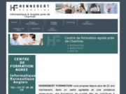 HENNEBERT Formation : stages en informatique et anglais à Chartres