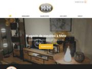 H & H à Jouy-aux-Arches pour l'achat de mobilier