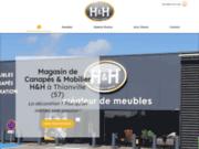 H & H spécialiste des canapés à Thionville