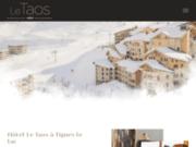 Le Taos - Hôtel 4 étoiles à Tignes
