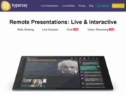 Hypersay - Plate-forme pour des présentations interactives