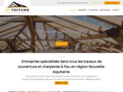 IC Toiture construction rénovation et entretien de couverture et charpente à Pau