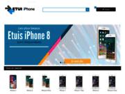 Vente en ligne d'etui et coques iphone