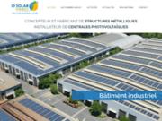 Création de bâtiments photovoltaïques et installation de centrales solaires