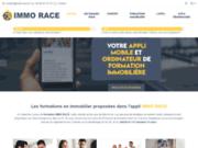 IMMO RACE, weblog d'information sur l'application de formation en immobilier IMMO RACE
