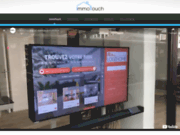 Immo Touch : Vitrine tactile