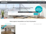 Agence immobilière Paris 18