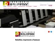 Le sérieux de l'imprimerie à Toulouse avec ReliefDoc