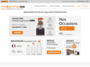 Instagrume - presse-agrumes automatiques Zumex (pro)