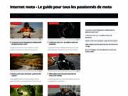 INTERNET MOTO : pièces détachées moto, pièces moto
