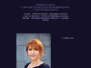 Site officiel de Isabelle Garcia