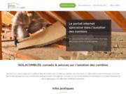 Le Site internet Isolacombles.com