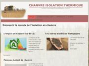 Chanvre isolation thermique et acoustique