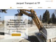 Jacquet Transport et TP près de Morteau