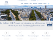 JDB avocats d'affaires à Paris