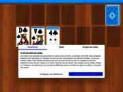 Le solitaire : jeu de cartes en ligne