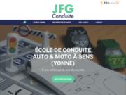 JFG Conduite - école de conduite auto moto à Sens