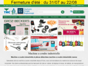 Thiollier : matériel de confection industriel
