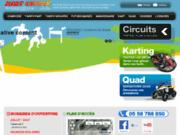 Kart Center Biscarrosse - Randonnées quad Landes (40)