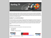 Faire du karting sur le circuit karting79
