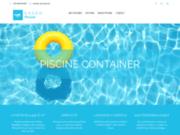 Container piscine design et durable