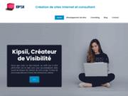 Kipsii, créateur de site internet et de visibilité seo