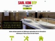 Rénovation : KOM BTP à Paris 75