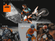 Site officiel moto KTM