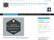 Dépannage Plombier île De France