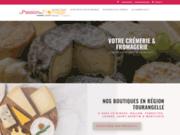 Vente de fromages de chèvre AOP : Rocamadour fermier, Crottin de Chavignol...