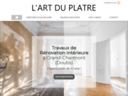 L'Art du Plâtre, entreprise de rénovation près de Montbéliard