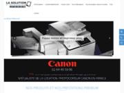 Location et vente de Photocopieur canon