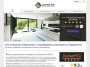Laurent Eck : artisan électricien et chauffagiste en Alsace