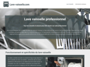 Lave-vaisselle professionnel : conseils et infos