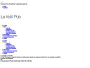 Formation voix-off - La Voix Pub