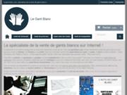 Vente de gants blancs en ligne