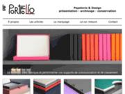 Le Portfolio, papeterie design pour la présentation et le classement