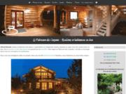 Construction sur mesure en bois massif de maisons