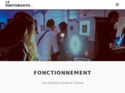 Le PhotoBooth, le photomaton Fond Vert