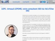 LEPS : Arnaud LEPEME, consultant SEO du 95