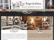 La cave du Château de Blois (41) : Les Forges du Château