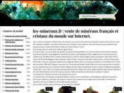 Magasin de minéraux français